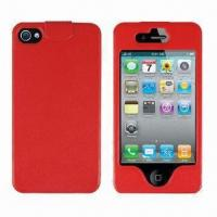 Wholesale Leather Cases for iPhone 4/4S, Simple, Fashionable Style, Available in Various Colors from china suppliers