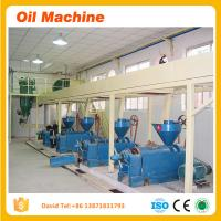 Wholesale 400kgs per hour soya oil extraction machine soybean processing machine from china suppliers