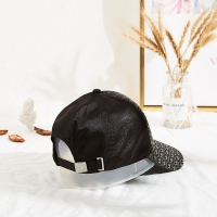 Wholesale Sports Black Polyester Embroidered Baseball Caps In Autumn from china suppliers