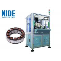 China Automatic BLDC double working stations Burshless motor stator needle winding machine / Stator ID 10-100mm for sale