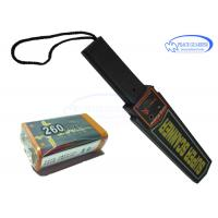 Wholesale 356g Portable Metal Detector Wand 9V Fold Battery LED / Audio Alarm For Body Search from china suppliers