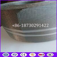 China 150mesh Stainless steel flute for extruder width 100mm,length 10 meters for sale
