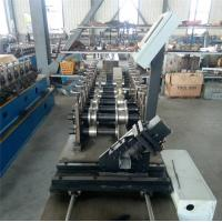 China Durable CZ Purlin Roll Forming Machine Dual Holes Punching 11 MAp Work Pressure on sale