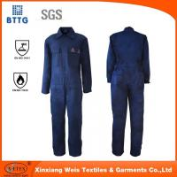 EN11612 fire proof industry coverall used for Oil & Gas Industry