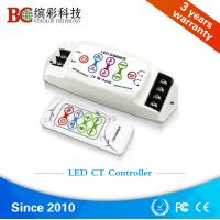 China BC-310RF  DC 5V 12V 24V DIY Color Temperature led controller; 8A 2 channels RF remote touch dimmer on sale