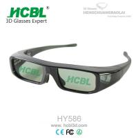 Wholesale Button Battery Active Shutter 3D Glasses / Eyeglasses For DLP Projector / Xpand Cinema / 3D TV from china suppliers