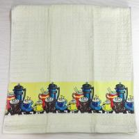 Wholesale Textiles Stock WAFFLE SATIN TRANSFER PRINTING TEA TOWEL from china suppliers