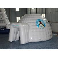 Buy cheap Mini Inflatable Igloo Tent / Blow Up Igloo Tent Playhouse For Rental from wholesalers