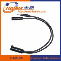 Wholesale extension cable car antenna/ Nissan original female car antenna adaptor TLM1605 from china suppliers