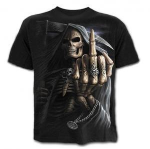 China new designer hot sell the fashionable printing logo skull tee shirts wholesale on sale