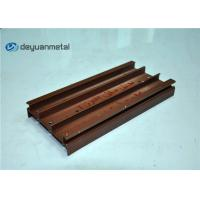Wholesale Alloy 6063 Wood Grain Aluminum Profiles 5.98 Meter Length Customized Shape from china suppliers