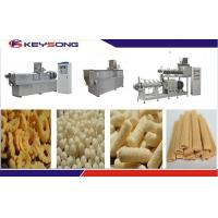 Wholesale Rice Snacks Making Machine , Corn Puff Extruder Machine CE ISO Certification from china suppliers