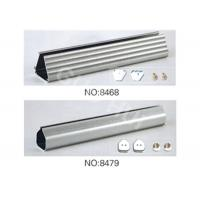 Wholesale Sheer Curtain Aluminum Extruded Profiles , Powder Coating Extruded Aluminium Sections from china suppliers
