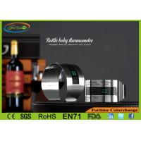 Quality LCD Stainless Steel Bar Accessories Perfect Promotion Gift Wine Bottle Thermometer for sale