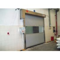 Wholesale Cleaning Room High Speed PVC Curtain Industrial Roll Up Door Touching Panel from china suppliers