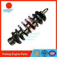 Wholesale nitriding heat treated Crankshaft 4BG1 OEM 8971129812 for excavator EX120-5 EX130 ZAX120-6 from china suppliers