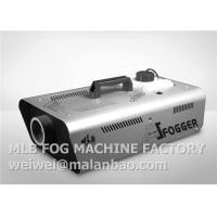 High Output Portable Stage Fog Machine 1500w With Wireless Remote