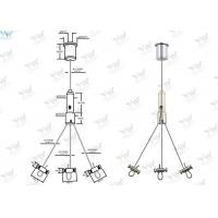 Wholesale Three Legs Plant Pot Wire Suspension Kit , Adjustable Flower Pot Hanging Kit from china suppliers