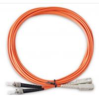Wholesale LC ST Patch Cord For Telecom System , Duplex Fiber Optic Cable 2M 3M 5M 15M from china suppliers