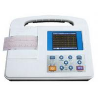 China Large LCD Screen 12 Lead Ecg Machine , Rs232 and USB Interface on sale