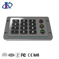 Buy cheap Excellent Tactile Feel Backlit Metal Keypad with Customizable Key Layout from wholesalers
