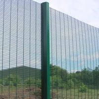 Wholesale 358 Safety Welded Mesh Fence , Welded Metal Fence Panels Powder Coated from china suppliers