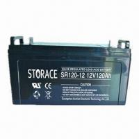Quality 12V/120Ah VRLA Battery with Sealed Lead Acid, Used for UPS and Computer Standby for sale