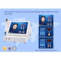 China 3d Hifu Ultrasound Machine / Accurate Tightening Body Slimming Facial Lifting Beauty Machine for sale