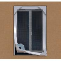China New design portable Fiberglass DIY magnetic fly screens windows on sale
