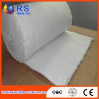 China LYGX-112 White Ceramic Fiber Blanket Fire Resistance With Insulation Performance on sale