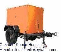 China Mobile Vacuum Oil Filter Unit for Transformer Oil for sale