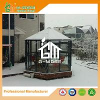 Wholesale Latest Hexagon Shape Aluminium Profile + Tempered Glass Luxury Greenhouse - 320 X 283 X 275CM (L X W X H) from china suppliers