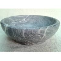 Wholesale Marble Stone Serving Bowl High Durability Keeping Fruit / Food Cool Fresh from china suppliers