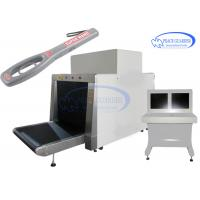 Wholesale 100*80 Cm L-Shape Generator X Ray Luggage Scanner With Free Handheld Metal Detector from china suppliers