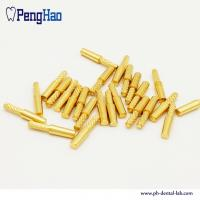 China good quality brass dental dowel pin for dental lab with best price on sale