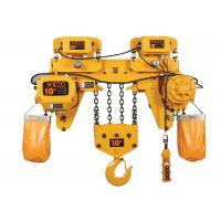 China Workshop 5 Ton Electric Chain Hoist For Overhead Crane CE Approval on sale