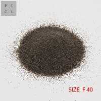 Wholesale High Hardness Brown Fused Alumina F40 For Refractory Brick Wear Resistance from china suppliers