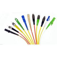 Wholesale Telecom Network E2000 APC Pigtail , Patch Cord Pigtail Flame Retardant from china suppliers