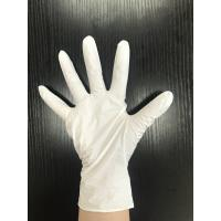 Wholesale Latex Free Non Sterile White Nitrile Powder Free Gloves Durable For Mechanic from china suppliers