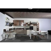 Buy cheap Modern Noble Champagne Acrylic Kitchen Cabinets from wholesalers