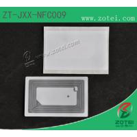 Wholesale NFC Sticker tag,13.56MHzEtch aluminum antenna, oneside is self-adhensive sticker from china suppliers