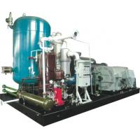 Wholesale Two Stage Rotary Screw Gas Compressor , Skid Mounted Oil Injected Screw Compressor from china suppliers