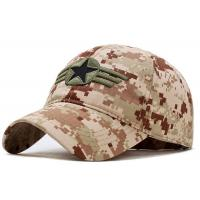 Wholesale Military Style Embroidered Baseball Caps Breathable 4 Lines Sweatband For Summer from china suppliers