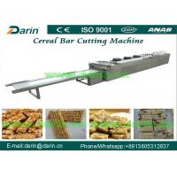 Wholesale Automatic stainless steel cereal bar making machine , sesame candy bar cutter machine from china suppliers