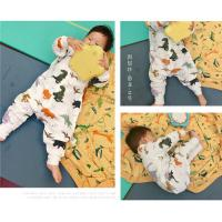 China Anti Kick Muslin Baby Pajamas Baby Sleeping Romper Soft Touch Eco - Friendly for sale