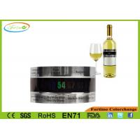 Wholesale LCD Stainless Steel Wine Bracelet Thermometer Creative Wine Thermometer from china suppliers