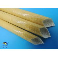 Wholesale High quality Oil proof PU Varished  Fiber glass Sleeve for wire insulation from china suppliers