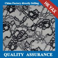 Wholesale china factory wholesale 2014 Hot selling  Black jacquard pure Nylon voile lace fabric for wedding dresses from china suppliers