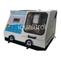 China Manual / Auto Metallographic Cutting Machine with Water Cooling Tank Cut Off Wheel Machine on sale