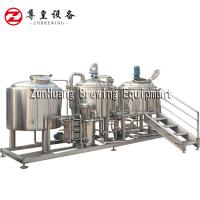 China ss304 China Hot Sale Beer Brewing Equipment 1000L for Brewery Beer Factory for sale